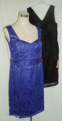 So Fabulous Spitzen-Overlay Kleid Cocktail Party Size 14