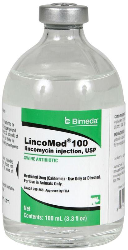 Bimeda LincoMed 100 Swine Antibiotic 100ml