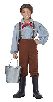 Frontier Pioneer Pairie Boy Child Costume