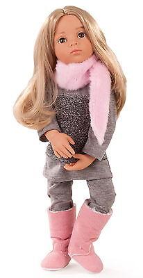 Götz Stehpuppe Puppe Emily Multigelenkstehpuppe 50cm blond Geschenk Neu 1466023