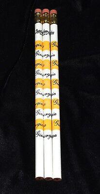 Vintage 1980s Leadworks Set of 3 Pencils Advertising for Giorgio Perfume NEW