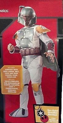 Boba Fett Deluxe Kinder Kostüm Jungen Star Wars Cosplay Kostüm Rubie's - Jungen Boba Fett Kostüm