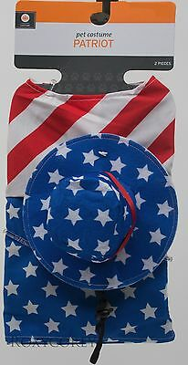 Halloween Stars & Stripes Patriot Shirt & Hat Pet Costume Size Small  NWT](Jack Russell Terrier Halloween Costumes)