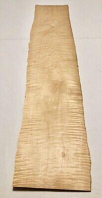 Curly Maple Wood Veneer 5 Sheets 41 X 8 11 Sqft