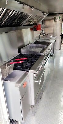 Brand New 18ft Kitchen By Rolling Kitchens Custom Food Trucks