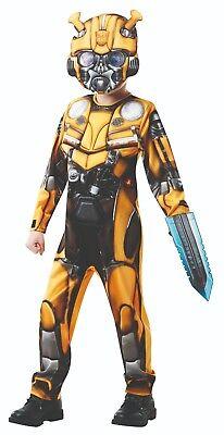 Rubies 3640978 - Bumblebee Deluxe - Transformers 6 - Kinder Kostüm * S M L - Deluxe Bumblebee Kostüm