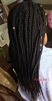 Coiffeuse africaine tresses + twist