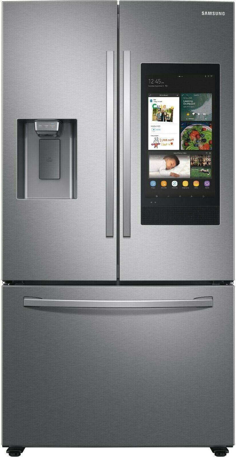 Samsung RF27T5501SR 36 Inch Smart French Door Refrigerator w
