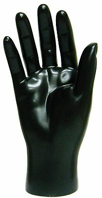 Mn-handsm Black Right Male Mannequin Hand Jewelry Display Black Only