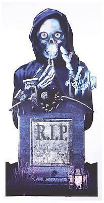 Zerissen Tür Abdeckung, Halloween Requisit, Wand Aufhänger Poster - Halloween Tür Kostüm