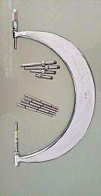 Scherr- Tumico Precision Tubular Micrometer 6-12 Range Usa Machinists Aluminum