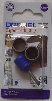 DREMEL SC407 EZ SpeedClic sanding mandrel & sanding bands  DREMEL 2615S407J