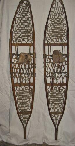 Vintage Snow Craft Snowshoes, Norway Maine, good