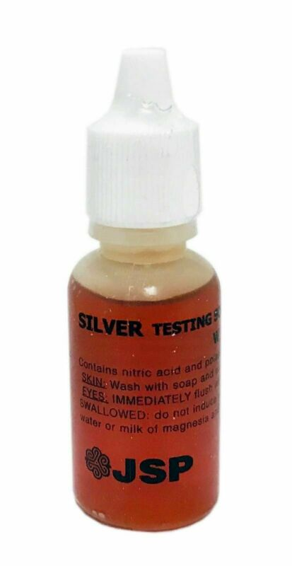 JSP SILVER 925 JEWELRY METAL TESTING ACID SOLUTION TEST - FRESH AND SEALED