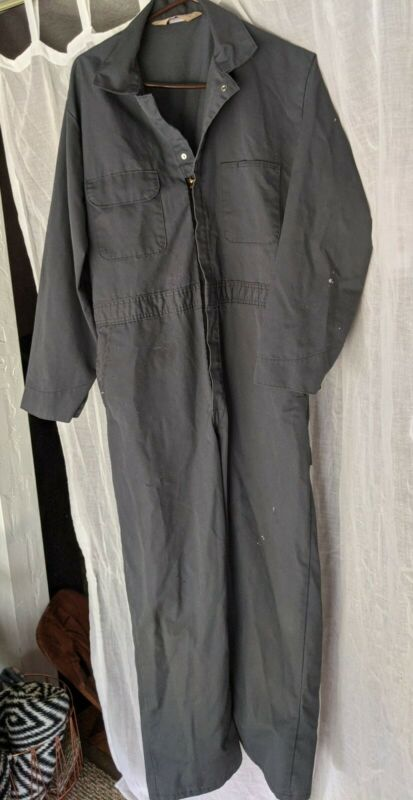 Vtg JCPenney Big Mac Long Sleeve Blue Coveralls