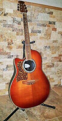 Left-Handed Ovation LCC047 Celebrity Acoustic Guitar