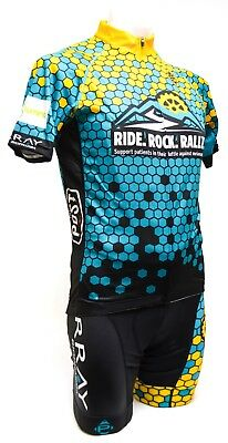 451b9f74d Panache Ride Rock Rally Short Sleeve Cycling Kit Socks Men LARGE Road MTB  Bike