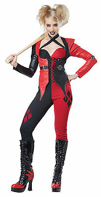Harley Quinn Joker Girlfriend Adult Women Costume