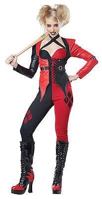 Harley Quinn Joker Girlfriend Adult Women Costume - Joker Costume For Woman