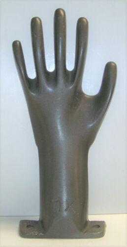 Industrial Cast Aluminum XL Left Hand Glove Mold Form