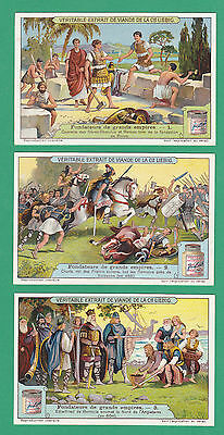 LIEBIG - SET OF 6 CARDS -  S 1139  /  F 1138  - FOUNDERS OF GREAT EMPIRES - 1922