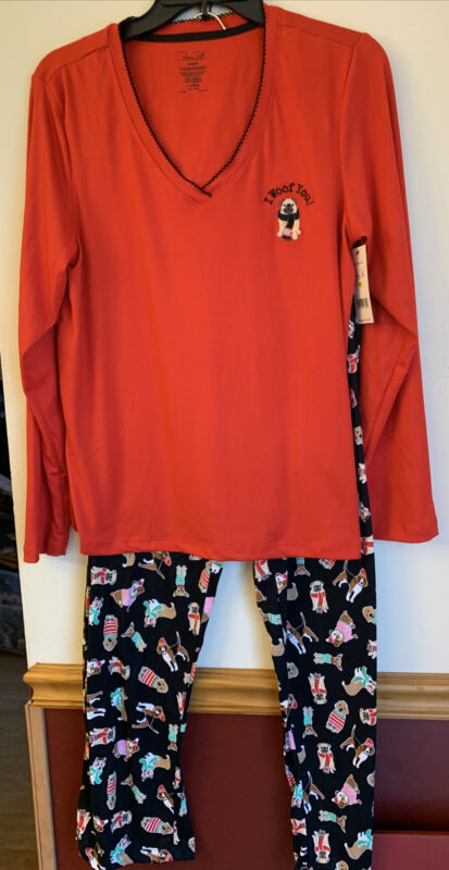 Pug Pajama Set So Soft