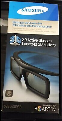 Samsung SSG-3050GB Stereoscopic 3D Active Glasses - Black