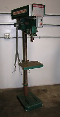Powermatic 15 Floor Drill Press Model 1150a Made In Usa 3 Phase 220v