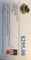 Mariaggi hotel gift certificate