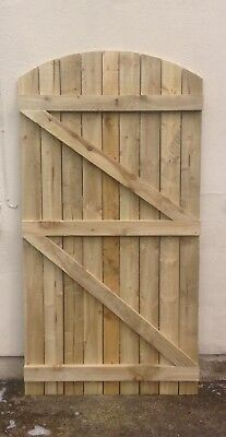 Wooden Garden Gate - Made To Measure - Side Gate - Timber Gate -