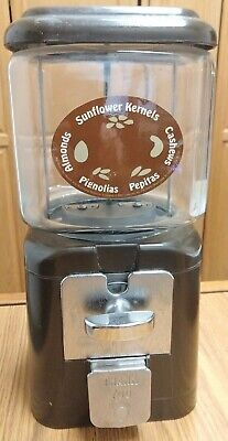 Vintage Acorn Gumball, Sunflower, Nut Machine, Brown, NICE!