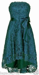 Juju Christine Abendkleid Cocktailkleid Festkleid NeU Petrol Gr. 38 (1381)