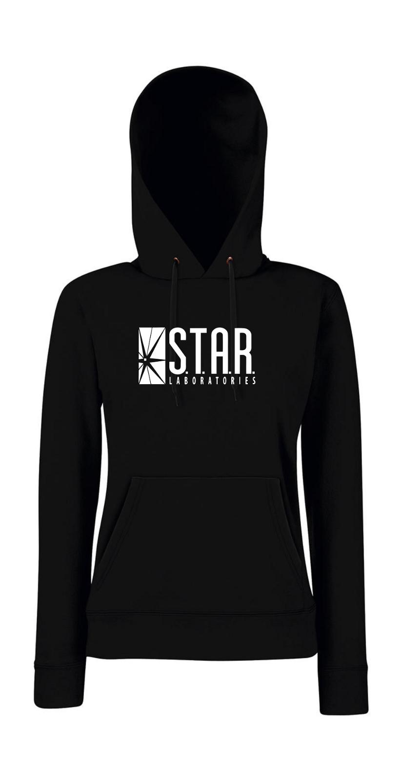 Star Laboratories Labs Logo I Fun I Lustig I Girlie Kapuzenpullover