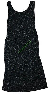 New Women's Maternity Tank Dress Black Gray NWT Liz Lange Size XS S M L XL XXL