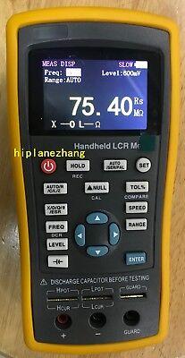 Handheld Lcr Meter Lcrzxdqesr 100hz120hz1khz10khz 2.8 Tft Lcd Usb