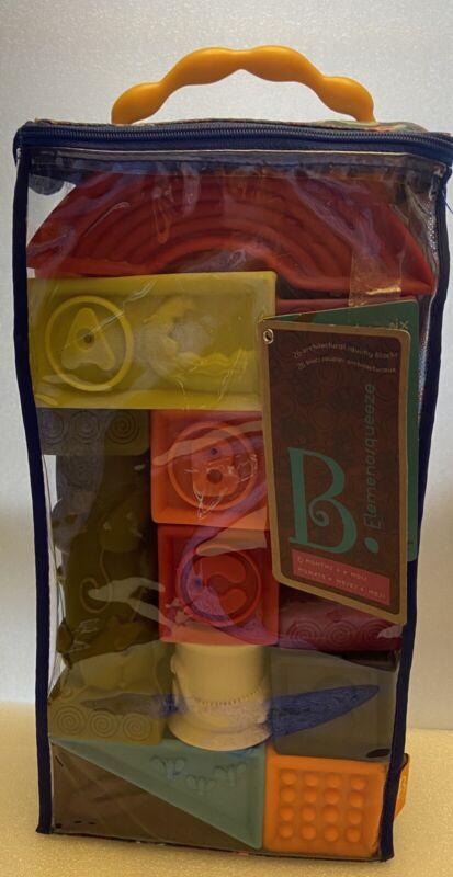 B. toys Educational Baby Blocks - Elemenosqueeze