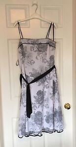 Black and white dress size 16