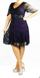 Plus Size Dress - Bella Lace Evening Cocktail Prom Dress size 16 18 20 22 24 26
