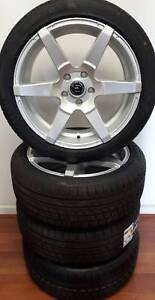WHEEL & TYRE PACKAGE 18x8 RJR CRAVE 225/45R18 ALTENZO Elizabeth Playford Area Preview