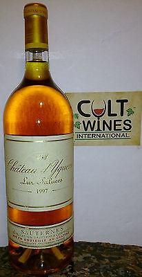 RP 96 pts! 1997 Chateau d'Yquem Sauternes. Ultra Rare MAGNUM size.