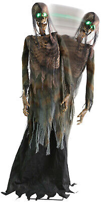 HALLOWEEN LIFE SIZE ANIMATED TWITCHING CORPSE PROP DECORATION HAUNTED HOUSE - Life Size Animated Halloween Props