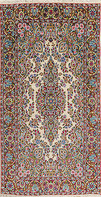Persisch Blume (Kirman Teppich Orientteppich Rug Carpet Tapis Tapijt Tappeto Alfombra Blumen Rar)