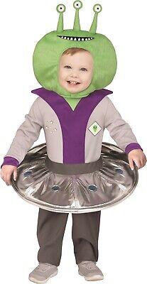 Kleinkind Jungen Mädchen Raum Alien UFO Raumschiff Halloween (Raum Alien Kostüm)
