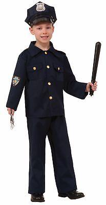 Police Officer Law Enforcement Policeman Cop Uniform Halloween Costume - Kids Cop Costume