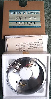 SONY U-matic parts RV-1 (RP) A-6709-132-A Umatic Upper Record / Play Drum NEW