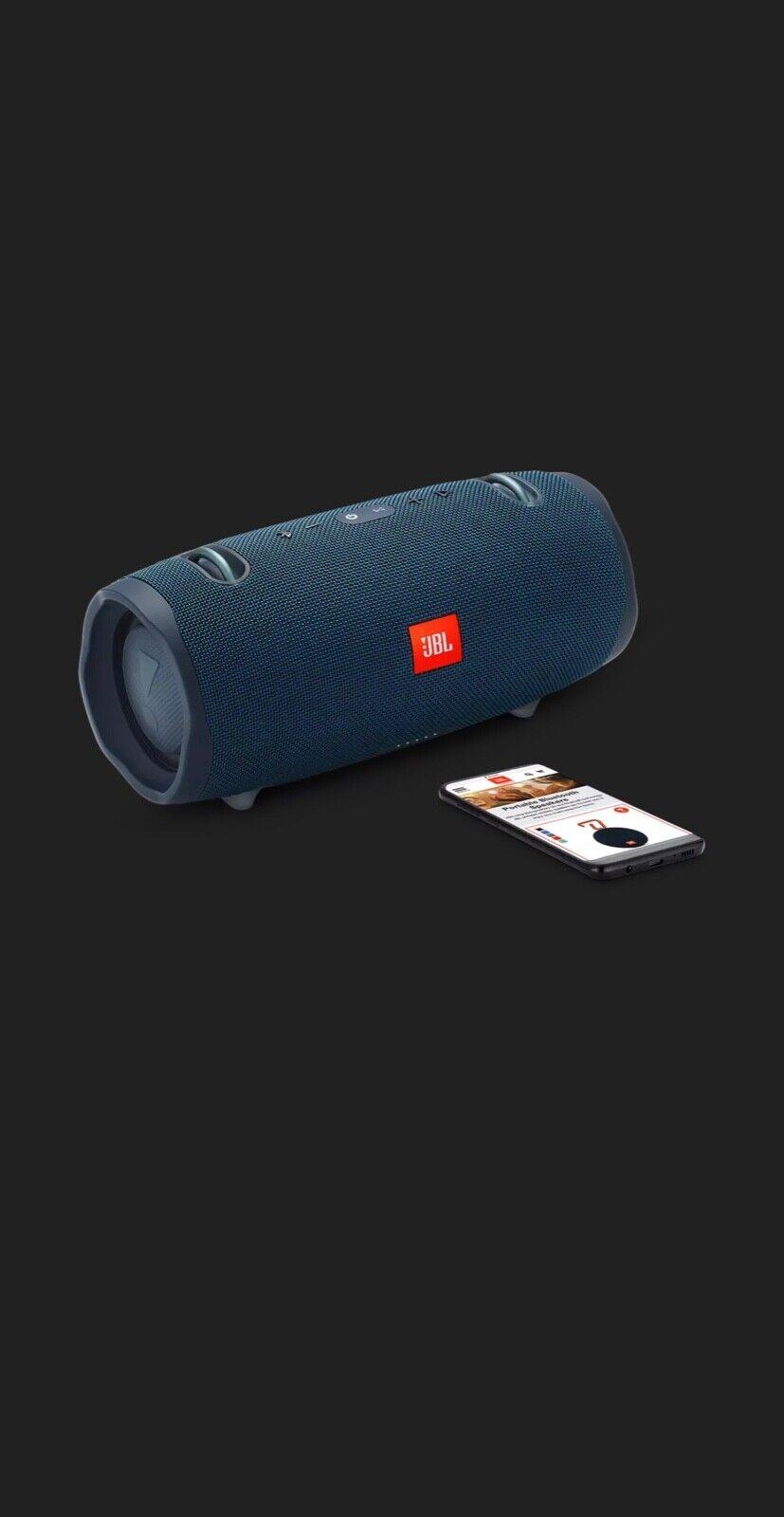 JBL Xtreme 2 Wireless Speaker BLUE Portable Waterproof Bluet