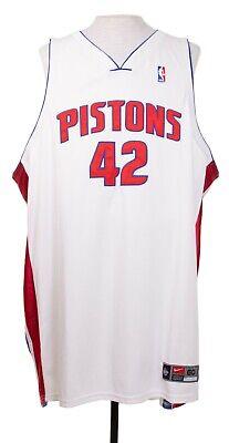 Nike Jerry Stackhouse Detroit Pistons Jersey # 42 NBA  Nike Team 4XL sz 60