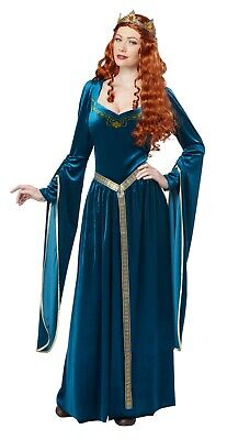 Adult Lady Guinevere Maid Marian Renaissance Costume
