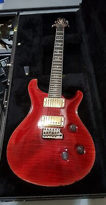 2010 PRS CUSTOM 24 10 TOP 25th Anniversary Electric Guitar Scarlet Red HSC 10 Top Electric Guitar