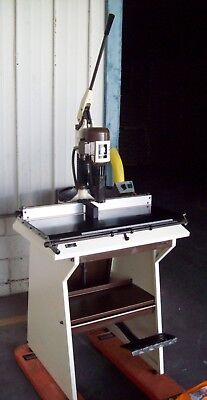 Electric Single Hole Industrial Paper Drill Model Concorde 92 O.m.